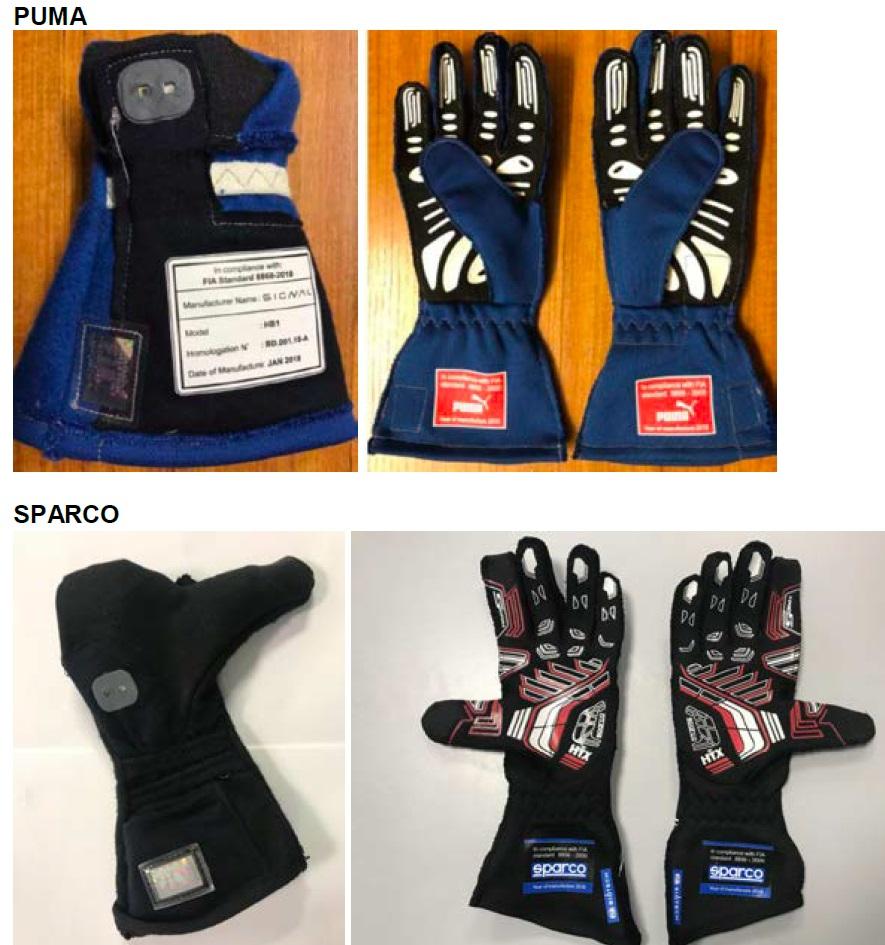 Биометрические перчатки в автоспорте - 12
