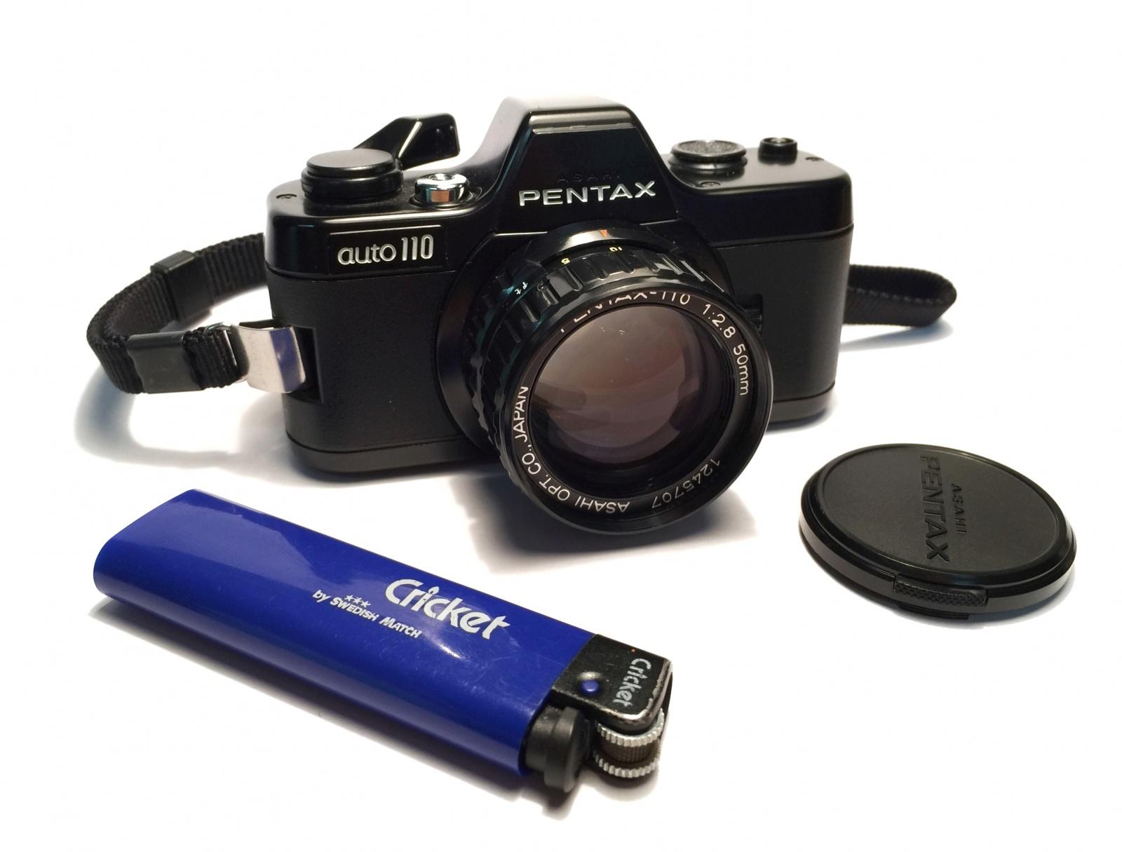 Pentax Auto 110: «в каком кулаке камера?» - 1