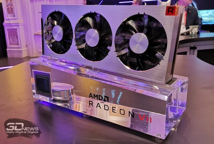 AMD планирует выпустить более доступные 7-нм GPU в этом году