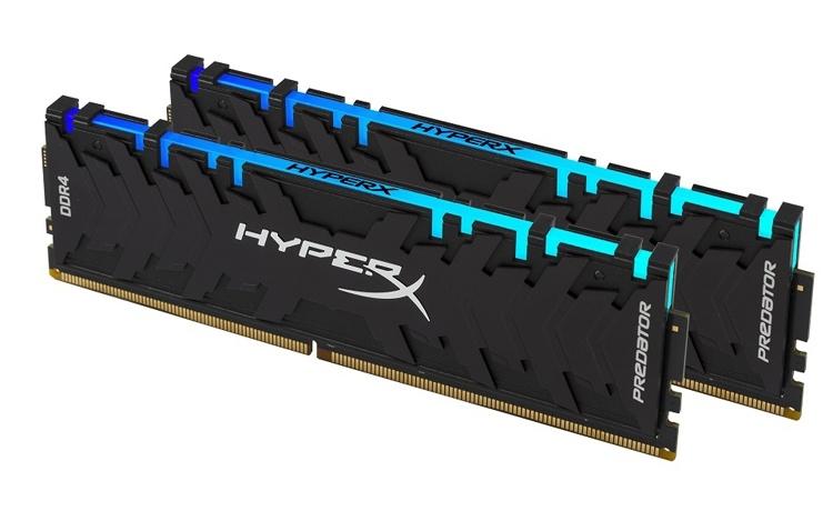 CES 2019: Новые модули памяти HyperX Predator DDR4 RGB
