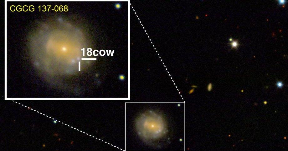 Астрономы впервые увидели рождение черной дыры или нейтронной звезды