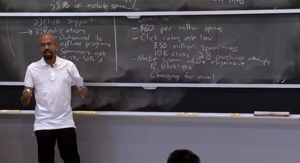 Курс MIT «Безопасность компьютерных систем». Лекция 23: «Экономика безопасности», часть 1 - 10