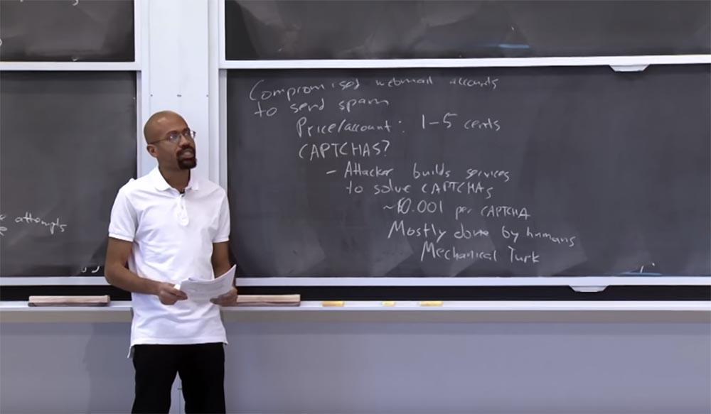 Курс MIT «Безопасность компьютерных систем». Лекция 23: «Экономика безопасности», часть 2 - 7