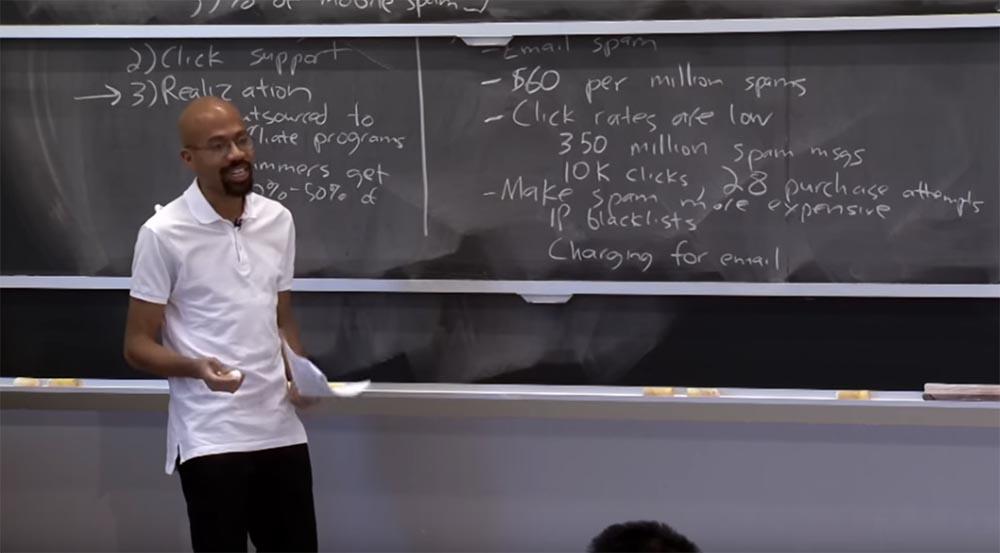 Курс MIT «Безопасность компьютерных систем». Лекция 23: «Экономика безопасности», часть 2 - 1