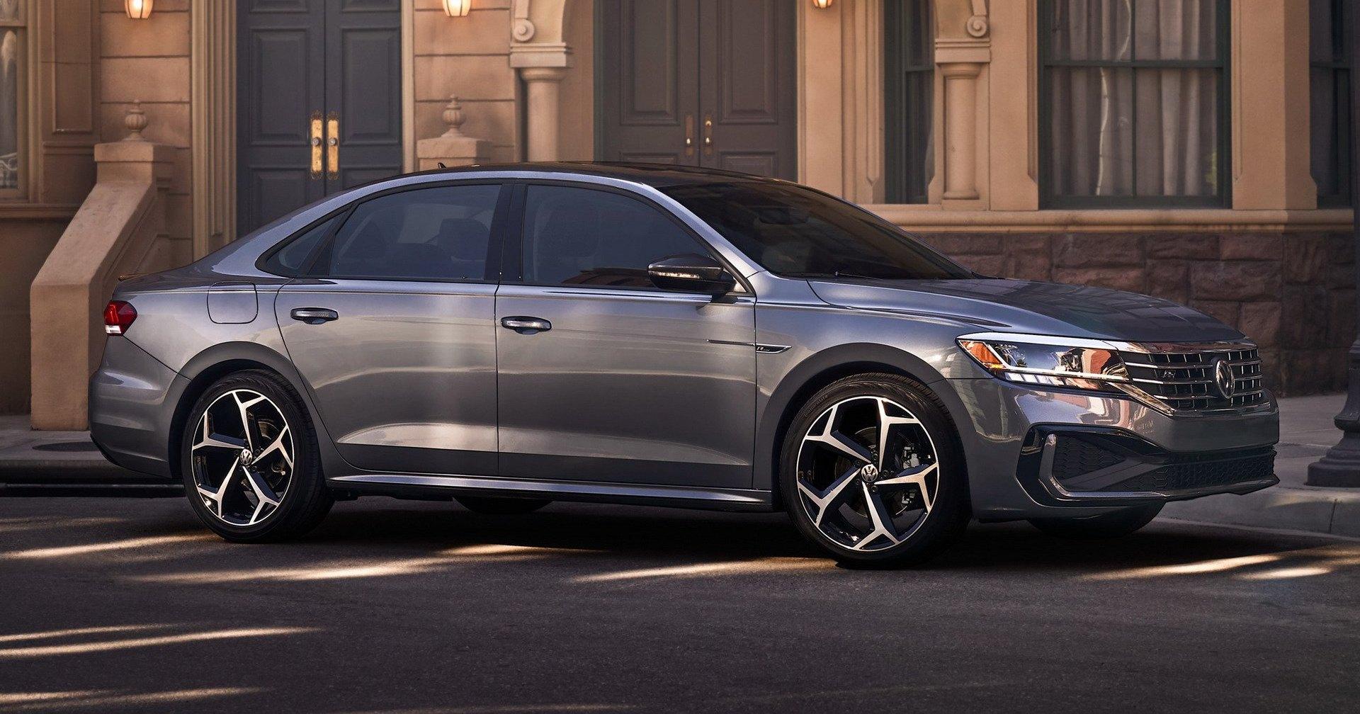 Новый Volkswagen Passat засветился на первых фото