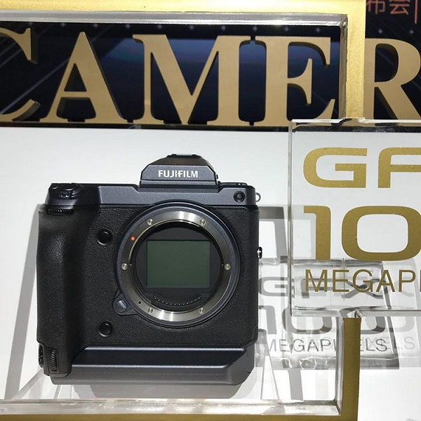 Появились новые изображения прототипа камеры Fujifilm GFX разрешением 100 Мп