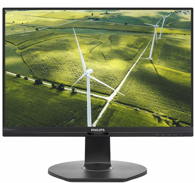 Производитель называет Philips 241B7QGJ самым «зеленым» монитором в мире