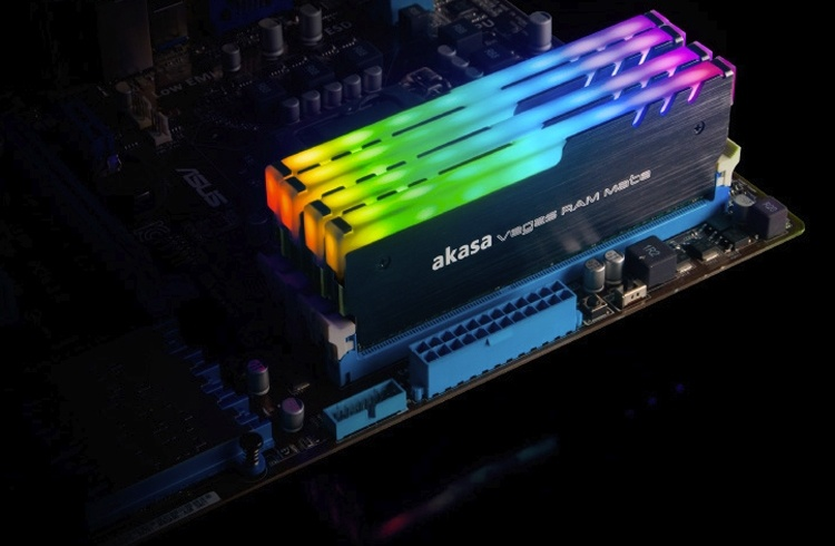 Akasa Vegas RAM Mate: эффектная подсветка для модулей ОЗУ