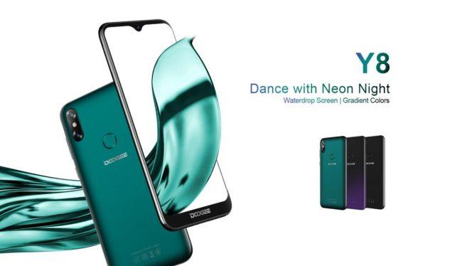 Doogee Y8 получил экран с каплевидным вырезом и Android 9.0 Pie при цене $70