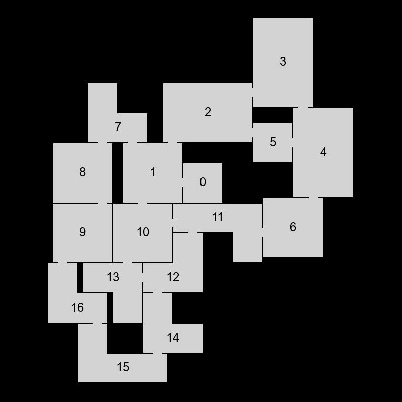 Генератор подземелий на основе узлов графа - 20