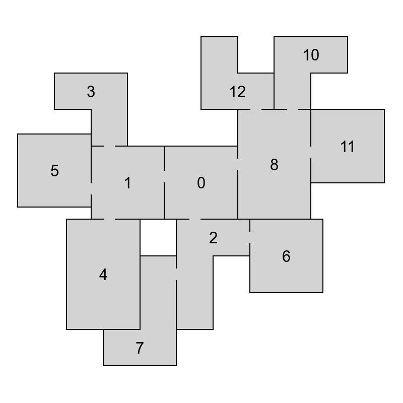 Генератор подземелий на основе узлов графа - 37