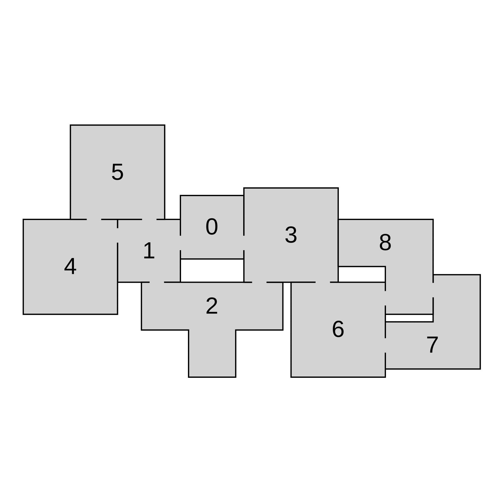 Генератор подземелий на основе узлов графа - 4