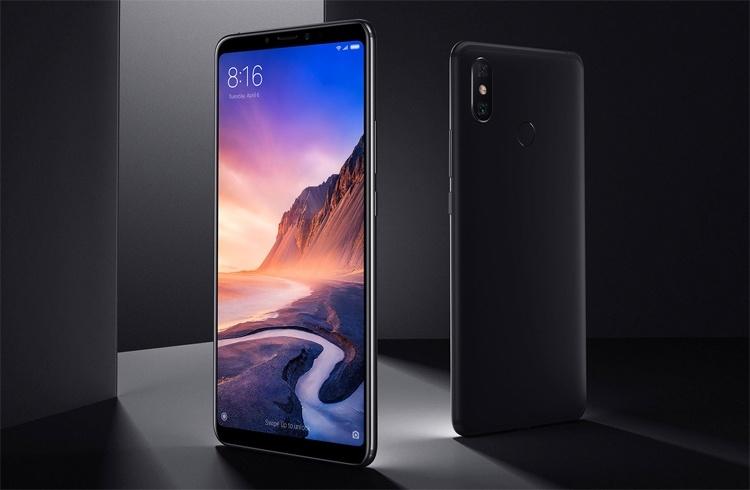Смартфоны серии Xiaomi Mi Max 4 получат гигантский 7,2″ дисплей