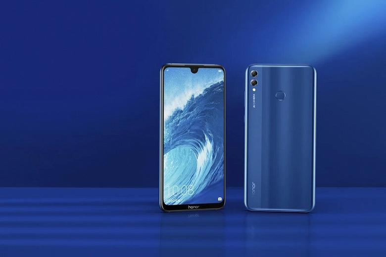 7-дюймовый монструозный смартфон Honor 8X Max добрался до России