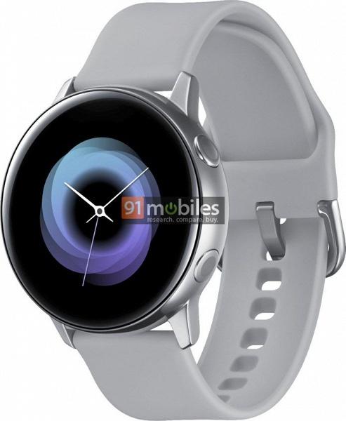 Умные часы Samsung Galaxy Sport показаны на качественном изображении