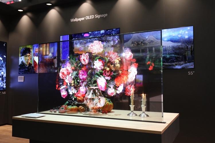 LG представила передовые разработки в области информационных дисплеев