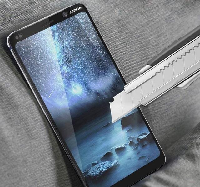 Смартфон Nokia 9 PureView с пентакамерой позирует на «живых» снимках