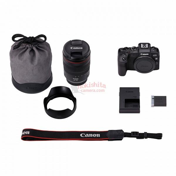 Появились новые изображения беззеркальной камеры Canon EOS RP