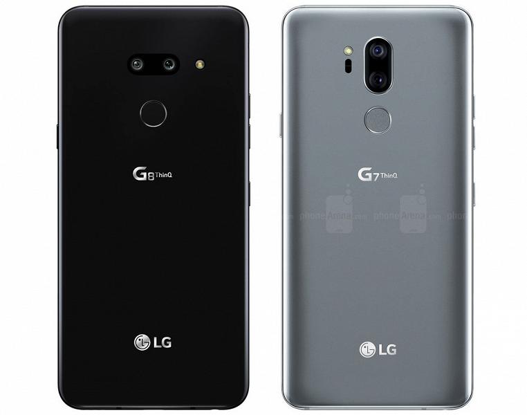 С камерой все в порядке: качественный рендер флагманского смартфона LG G8 ThinQ позволяет рассмотреть его в деталях