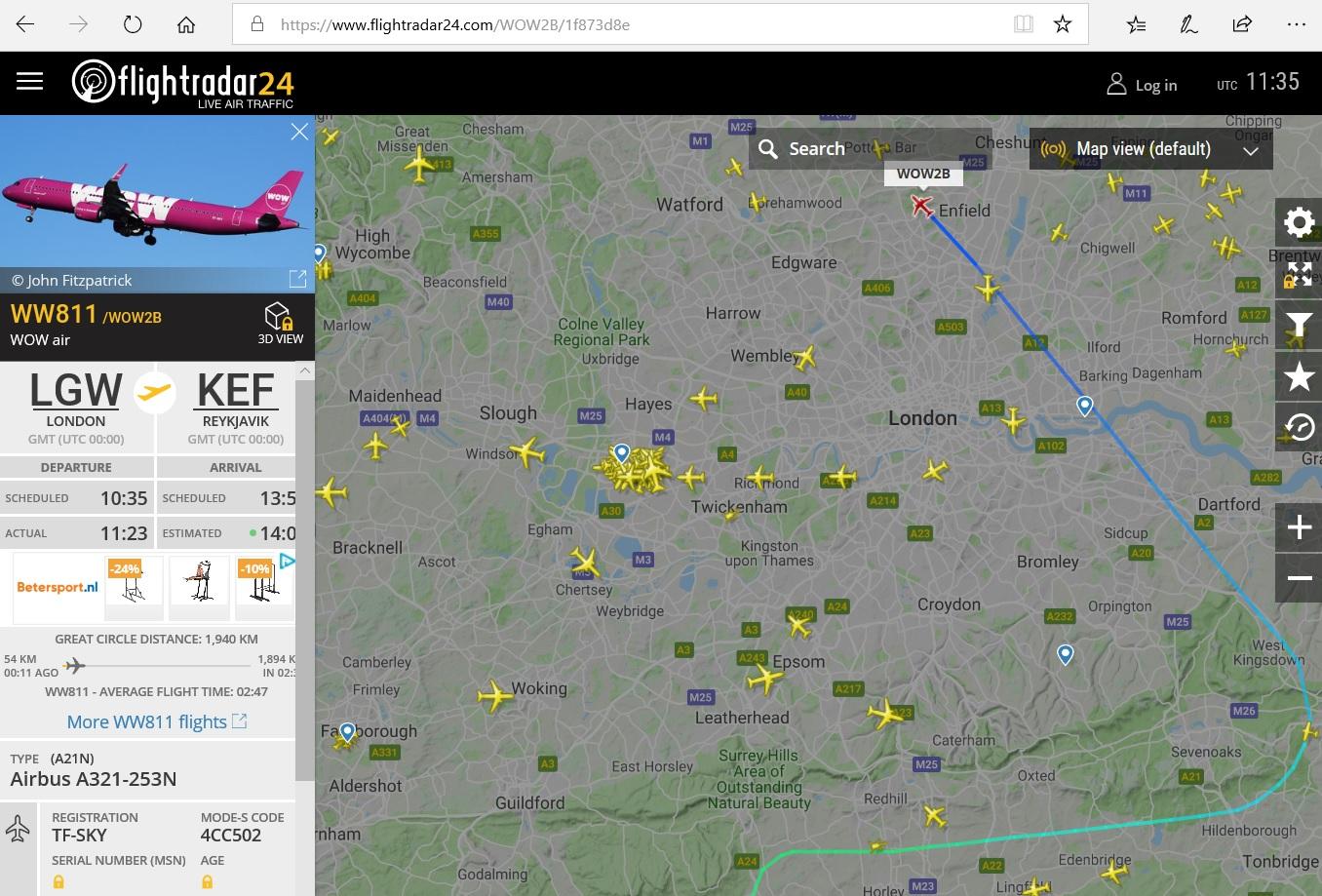 Flightradar24 — how it works? - 1