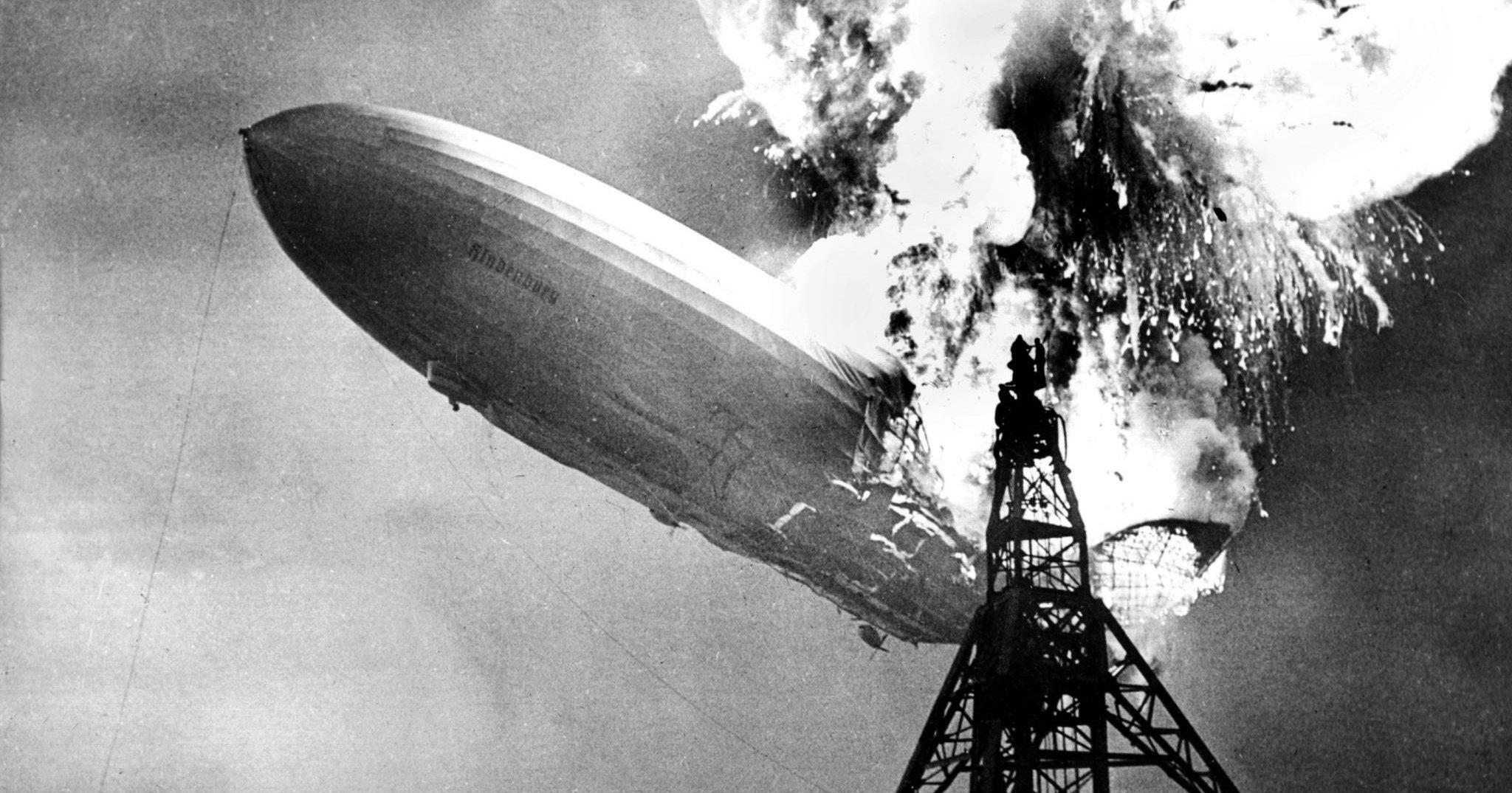 Эпоха, сгоревшая за 34 секунды: катастрофа «Гинденбурга»