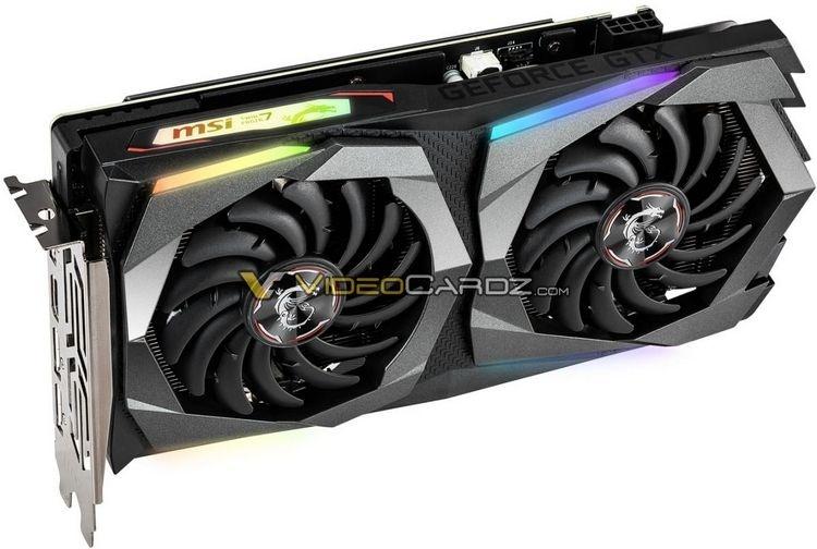 Изображения видеокарт GeForce GTX 1660 от MSI подтвердили использование в них памяти GDDR5