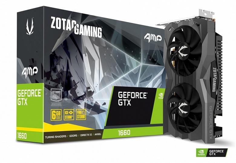 Достоинством 3D-карт серии Zotac GeForce GTX 1660 производитель называет компактность