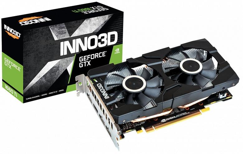 Каталог Inno3D пополнила 3D-карта Inno3D GeForce GTX 1660 Twin X2