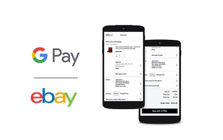 eBay добавляет Google Pay в способы оплаты