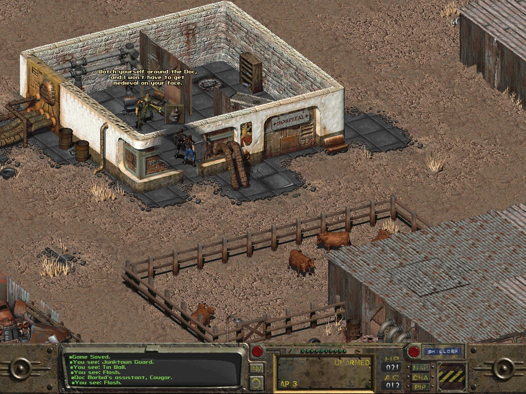Полная история серии Fallout - 2