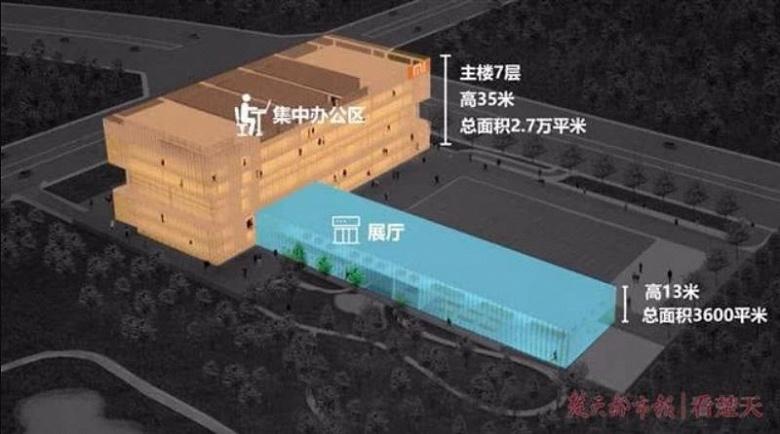 Новая штаб-квартира Xiaomi должна быть полностью готова до конца года
