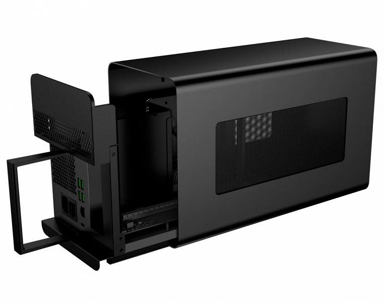 Шасси для внешней 3D-карты Razer Core X Chroma с блоком питания мощностью 700 Вт может заряжать ноутбуки