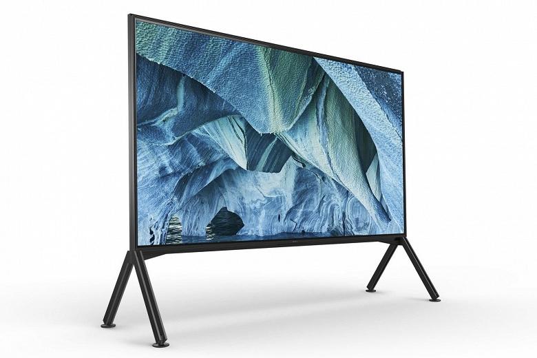 Намного дешевле аналога Samsung. Монструозный 98-дюймовый телевизор Sony с разрешением 8K оценен в 70 тысяч долларов