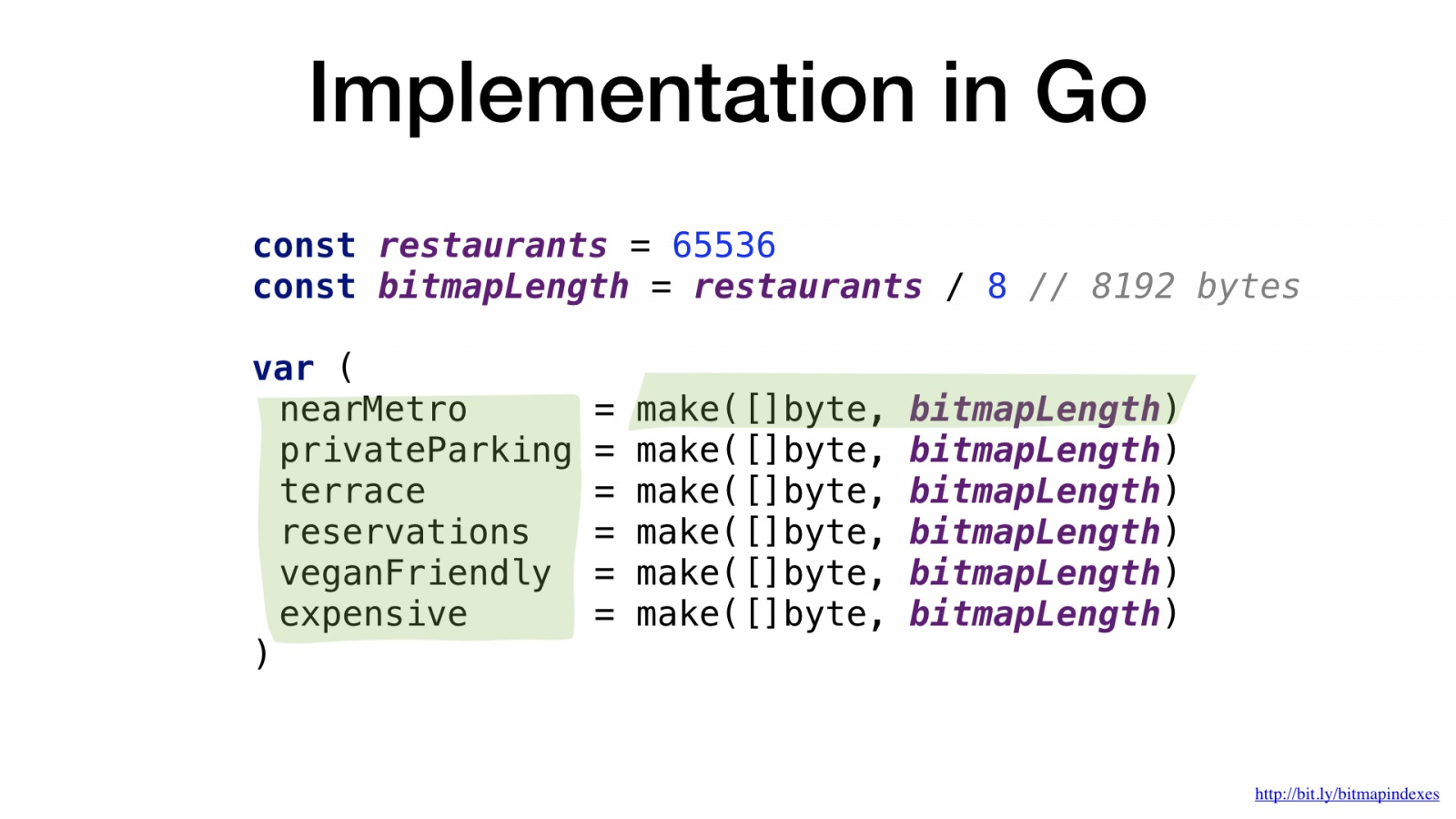 Bitmap indexes in Go: unbelievable search speed - 23