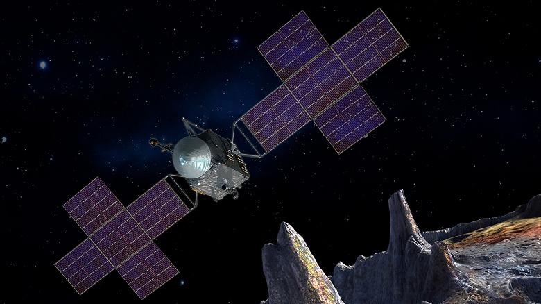 NASA планирует полет к астероиду Психея на 2022 год