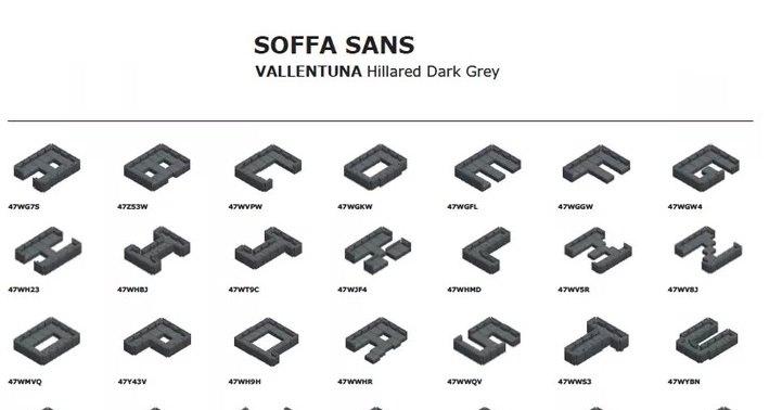 IKEA создала новый шрифт из… диванов