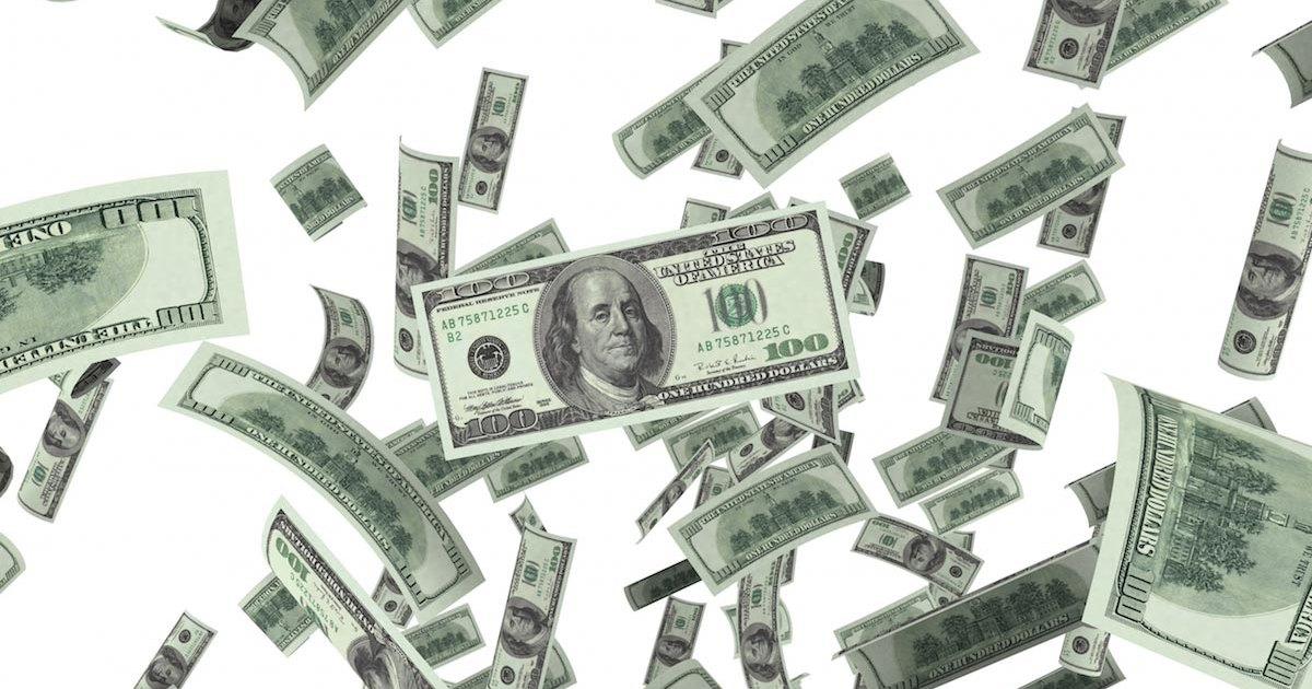 Американское шоссе осыпало деньгами: видео