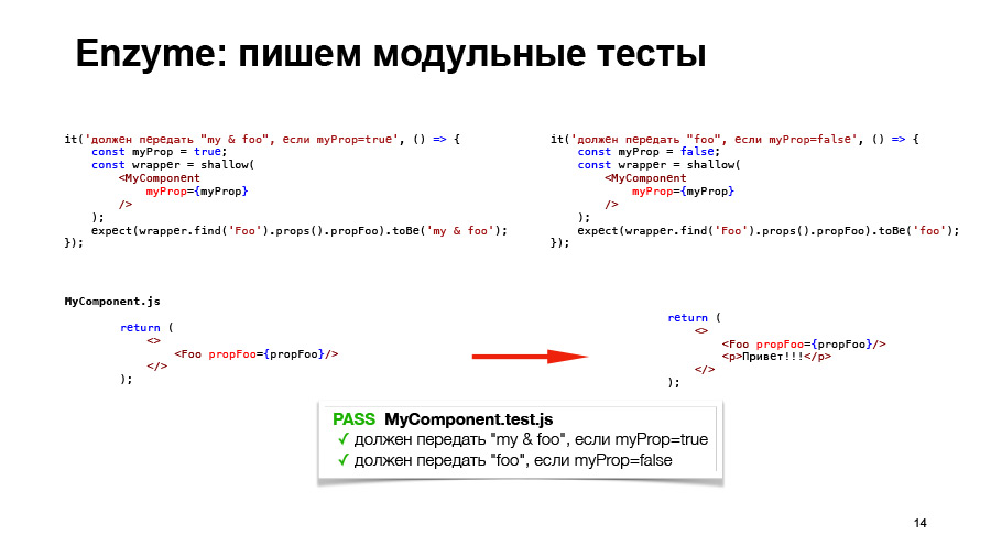 Полный цикл тестирования React-приложений. Доклад Авто.ру - 13