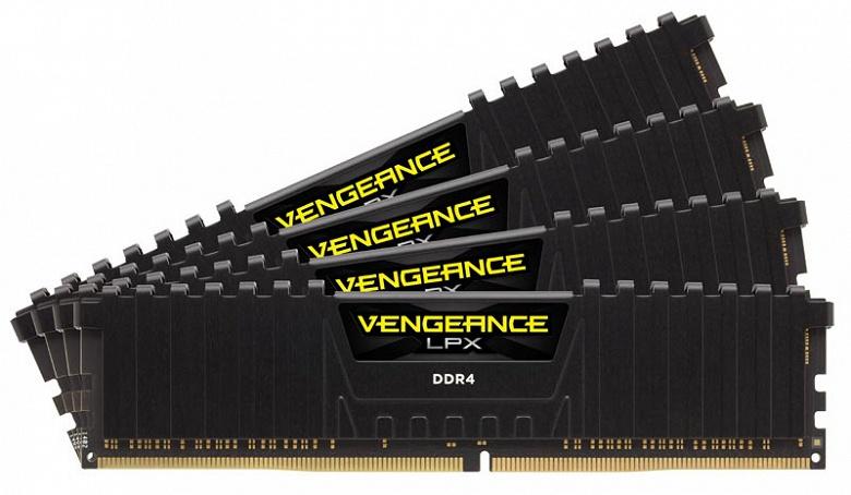 Corsair выпускает модули памяти Vengeance LPX DDR4 объемом 32 ГБ