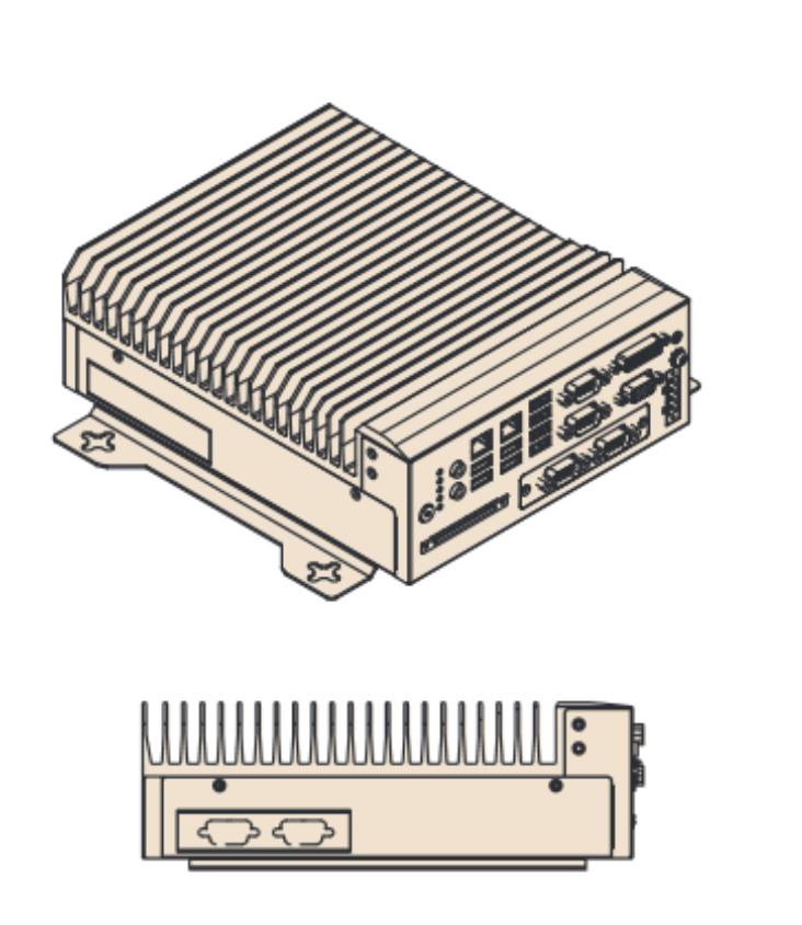Безвентиляторные производительные компьютеры MIC-7000 - 2