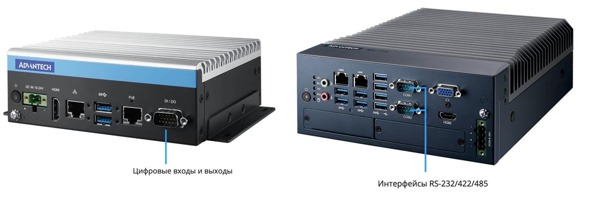 Безвентиляторные производительные компьютеры MIC-7000 - 3