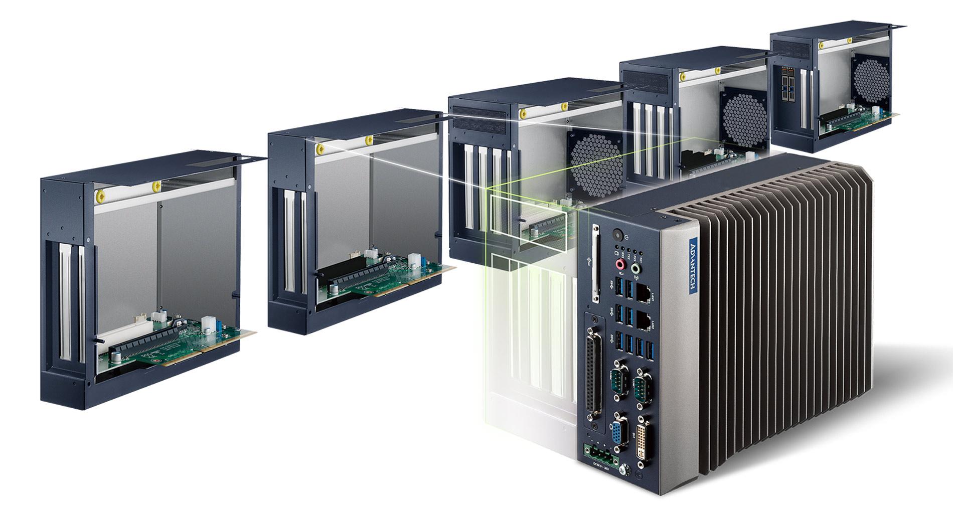 Безвентиляторные производительные компьютеры MIC-7000 - 7