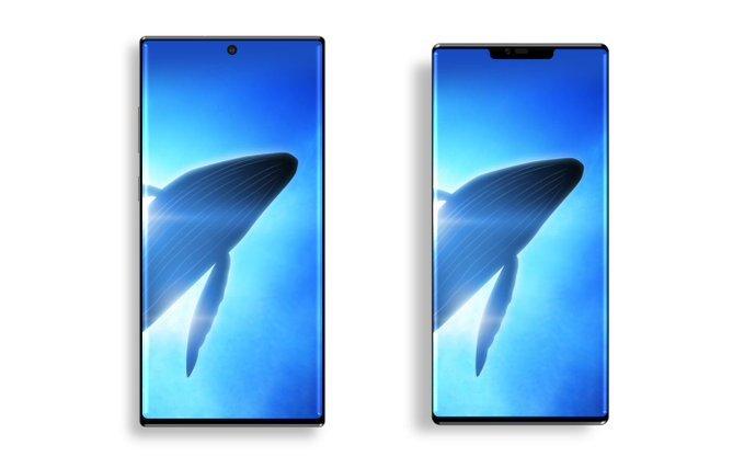 Галерея дня: Galaxy Note10 сравнили с отменённым смартфоном Samsung и Huawei Mate 30