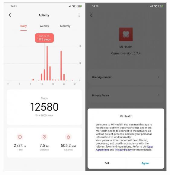 Mi Health — новое приложение Xiaomi для отслеживания спортивных достижений и показателей здоровья