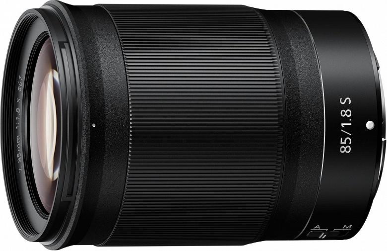 Представлен объектив Nikkor Z 85mm f/1.8 S