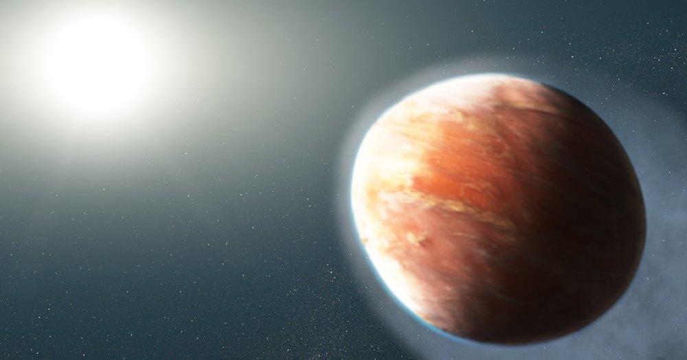 «Хаббл» рассмотрел необычную экзопланету, имеющую форму яйца