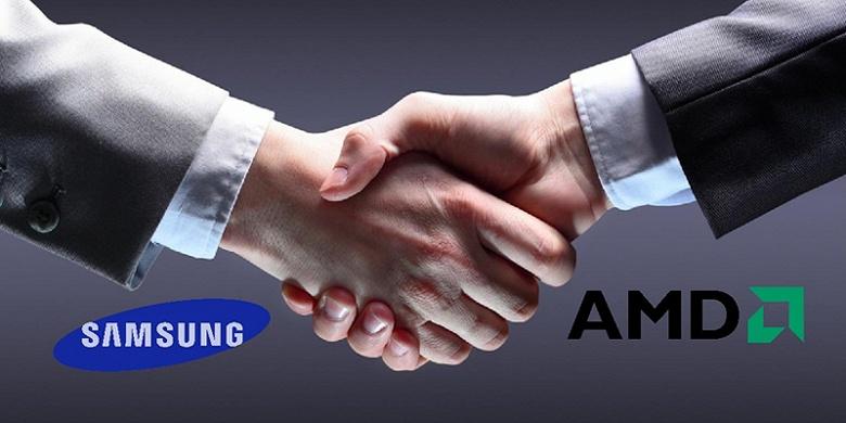 Технологии AMD будут использованы в GPU Samsung через два года