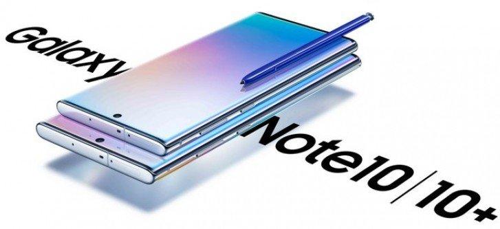 Фото запечатлело целые коробки со смартфонами Samsung Galaxy Note10+ 5G