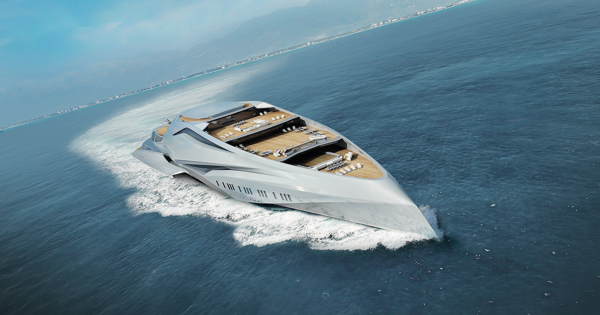 Игрушка миллиардеров: самая большая яхта в мире