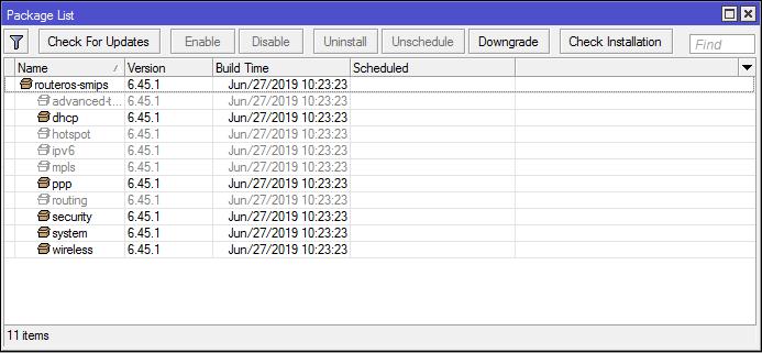 Проблема с обновлением MikroTik RouterOS на роутерах с 16MB FLASH - 2